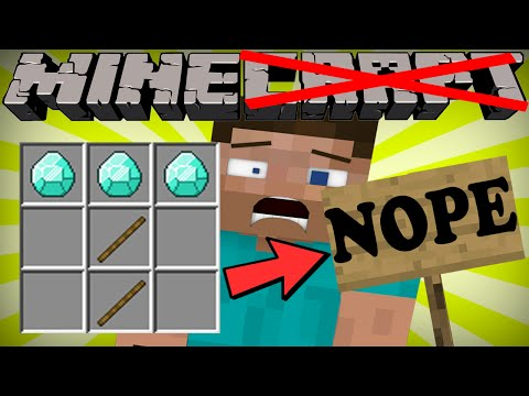 If You Couldn't Craft in Minecraft