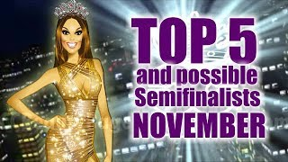Video MISS UNIVERSE 2017 - Top 5 and possible semifinalists - NOVEMBER MP3, 3GP, MP4, WEBM, AVI, FLV November 2017