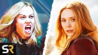 Video Why Captain Marvel Is Stronger Than Scarlet Witch In The MCU MP3, 3GP, MP4, WEBM, AVI, FLV Mei 2019