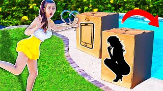Video DONT Push the Wrong MYSTERY BOX into the Water ! (you decide) MP3, 3GP, MP4, WEBM, AVI, FLV Juni 2019