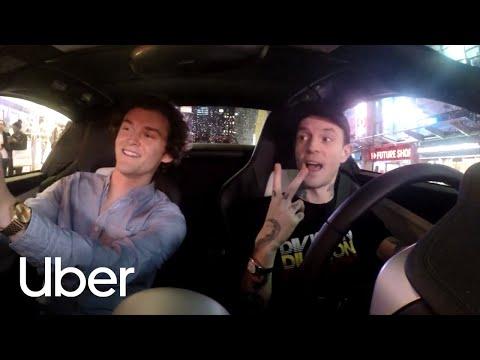 Deadmau5 Drives for Uber in his McLaren