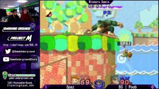 Insane back-and-forth set between Spaz and Poob