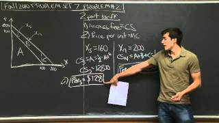 Problem Set 7, Problem #2a-e | MIT 14.01SC Principles Of Microeconomics