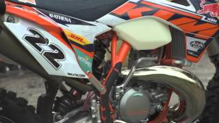 8. Jonny Walker's TKO 2016 KTM 300 XC-W - Factory Bike Friday