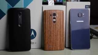 Motorola Moto X Style vs LG G4 vs Samsung Galaxy S6 Edge+