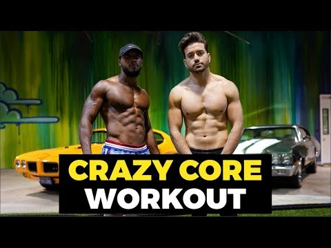 CRAZY CORE EXERCISES for Amazing Abs  Men's Fitness Workout  Alex Costa