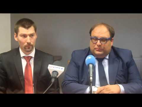 Konferencja prasowa Energa AZS Koszalin cz.2Nowy Prezes