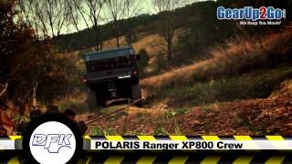 9. Polaris Ranger XP800 Crew with DFK Cab from GearUp2Go.com- UTV cab SuperStore