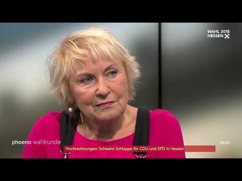 phoenix wahlrunde: Zum Ausgang der Landtagswahl in He ...