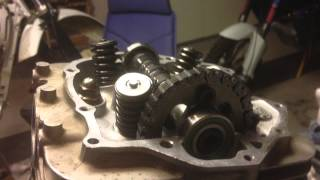 1. Honda XR400 Engine Rebuild