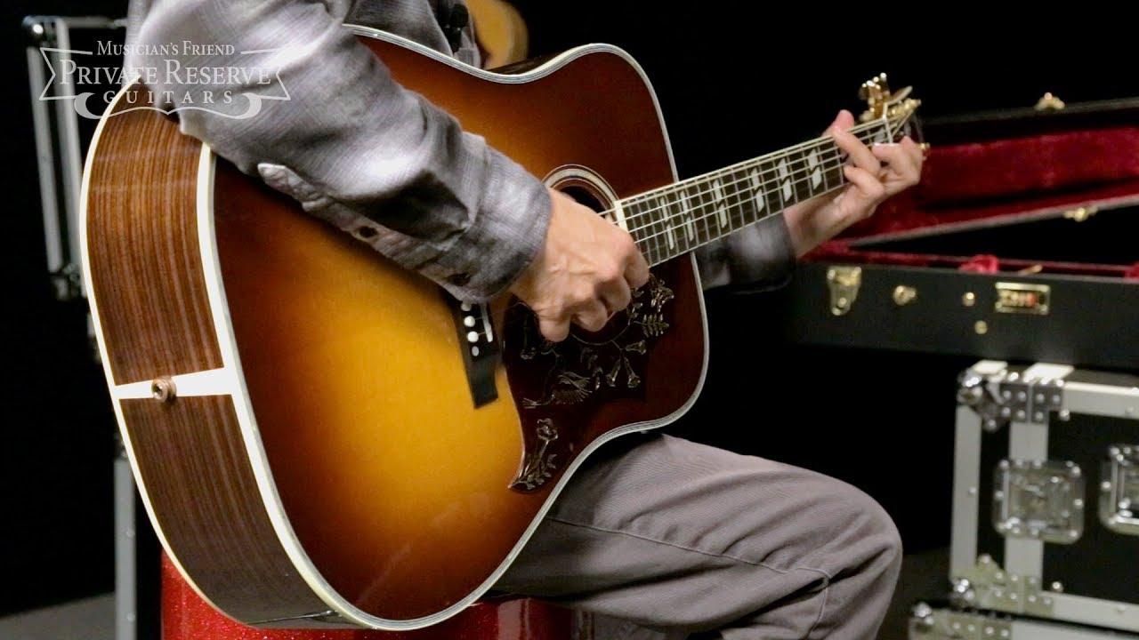 Gibson 2018 Hummingbird Regal Acoustic-Electric Guitar