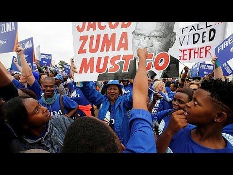Ν.Αφρική: «Ζούμα παραιτήσου φωνάζουν οι διαδηλωτές»