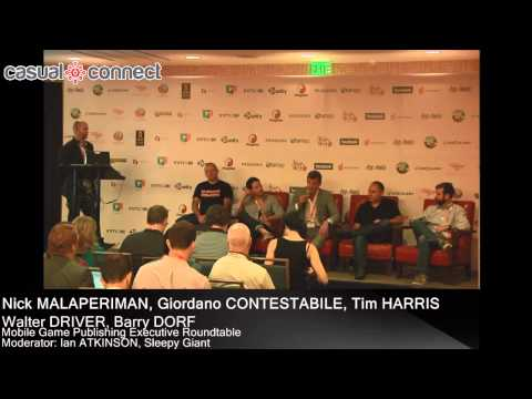 Mobile Game Publishing Exec. Roundtable | MALAPERIMAN, CONTESTABILE, HARRIS, DRIVER, DORF, ATKINSON
