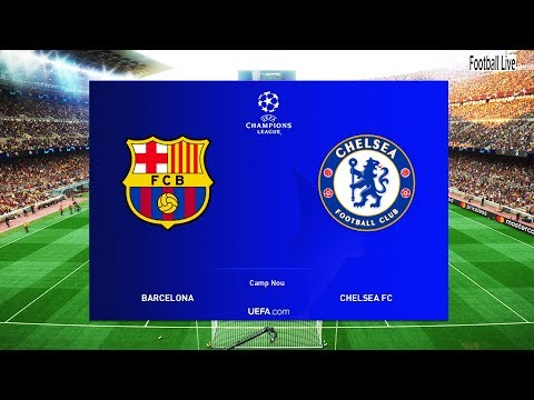 PES 2019 | FC BARCELONA Vs CHELSEA FC | UEFA Champions League (UCL) | Gameplay PC | Messi Vs Hazard