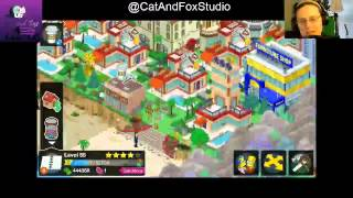 "Thanks for Joining Cat and Fox for another gaming Lets Play! ^_^Simpsons Tapped Out! Lvl 55 continues and Fox plugs away at the West Side of Springfield...The Simpsons Tapped Out popular Forums: http://tstoaddicts.com/http://tstoforum.com/http://forum.ea.com/eaforum/forums/show/4127.page (Finding friends forum)50% of all proceeds go to the ""No Trans Left Behind"" non-for-profit,Thank you very much, a virtual musical hugs if you have donated:https://www.paypal.com/cgi-bin/webscr?cmd=_s-xclick&hosted_button_id=48QLEPMQM2PU8"