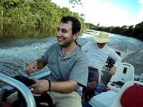 Pescaria de rodada no Rio Itiquira-MT 2012.