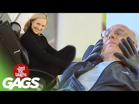 Darth Vader Massage Prank.