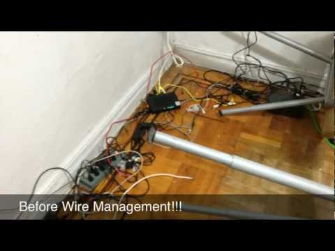 cable supply - In this video I talked about how to wire manage your workstation, I also talk a little about Uninterruptible Power Supply or UPS, what they are and what they...