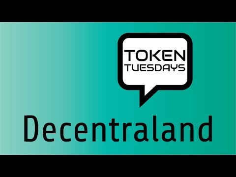 Token Tuesdays | Decentraland video
