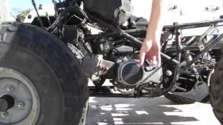 7. Honda TRX90 project part 11