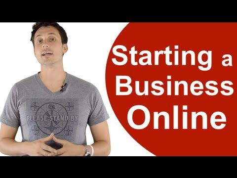 Starting a Small Business Online (The 1st Step)