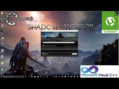 How To download and install  Middle Earth Shadow of Mordor Full Game [ R.G mechanics ] working 100%