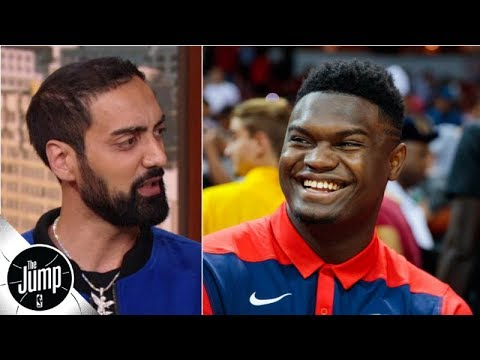 Video: Ronnie 2K on how Zion Williamson became the highest rated NBA2K rookie since John Wall | The Jump