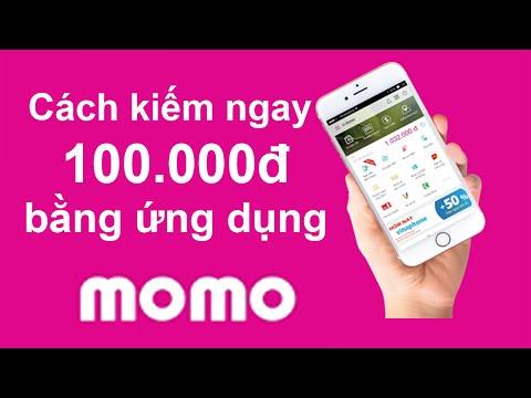 Hướng dẫn có ngay 100k khi cài ứng dụng momo trên Điện thoại nhé