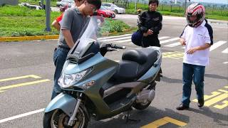 1. kymco xciting 250