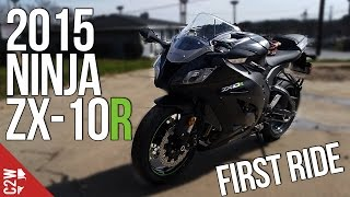10. 2015 Kawasaki Ninja ZX-10R | First Ride