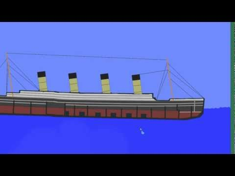 Titanic Physics mit Algodoo (Updated Titanic Modell Preview)