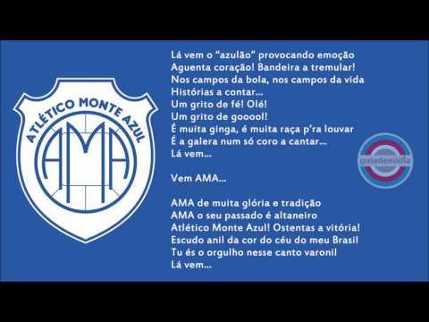 Hino do Atlético Monte Azul ( SP )