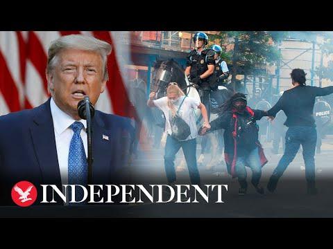 Тръмп обяви, че ще извади армията на улиците
