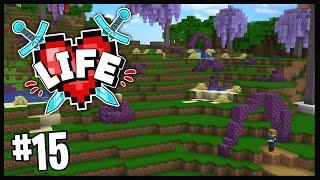 I BUILT JELLYFISH FIELDS!! | Minecraft X Life SMP | #15