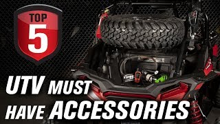 5. Top 5 UTV Must Have Trail and Off-Road Accessories