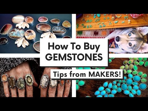 BUYING GEMSTONES: How to find gemstone seller? Tips from JEWELRY MAKERS!