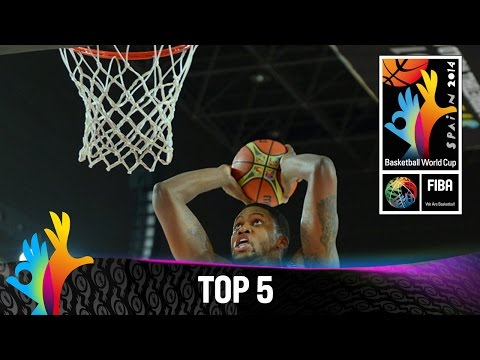 Top - Watch the Top 5 plays from 30 August. The 2014 FIBA Basketball World Cup will take place in Spain from 30 August - 14 September and will feature the best international players from all continents....