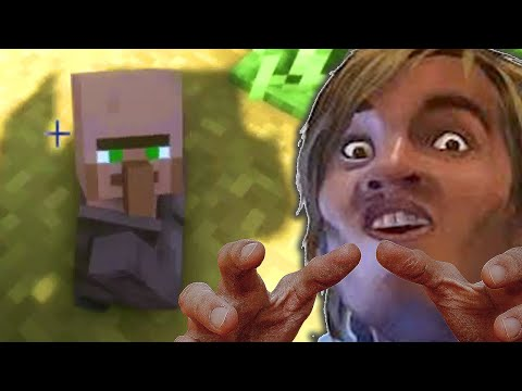 Rescuing Villagers in Minecraft