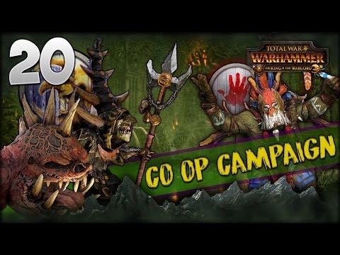 WE'Z LOST DA MOUNTIN! Total War: Warhammer - Crooked Moon + Bloody Handz Co-op w/ MrSmartDonkey #20 (видео)