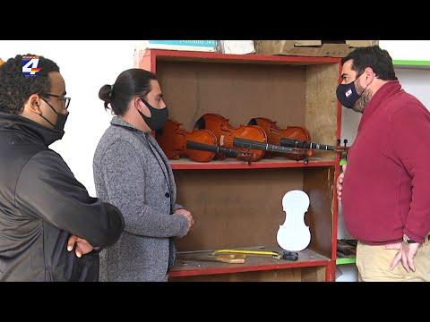 """""""Un niño, un Instrumento"""" cumple 5 años y habilitan taller de Luthería en Paysandú"""
