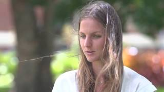Karolina Pliskova takes her winning trophy out into the Brisbane sunshine and talks about her preparation for the Australian Open.