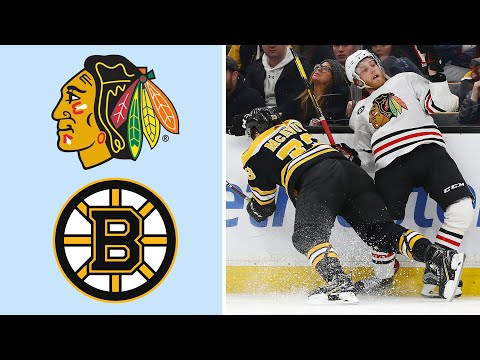 Video: Chicago Blackhawks vs. Boston Bruins | EXTENDED HIGHLIGHTS | 2/12/19 | NBC Sports
