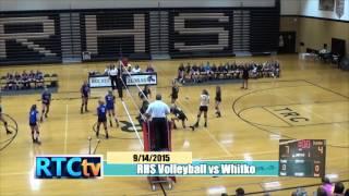 Rochester High School Volleyball vs Whitko