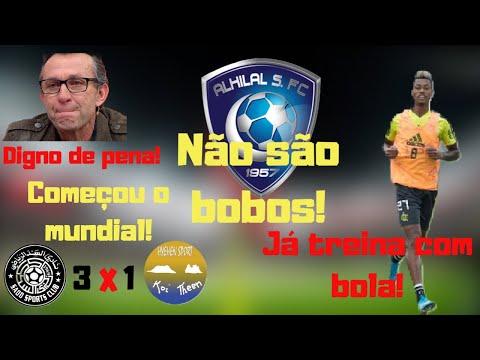 Início do mundial! Al Hilal não é bobo! BH treina com bola! Fla emite Nota oficial sobre o mundial!