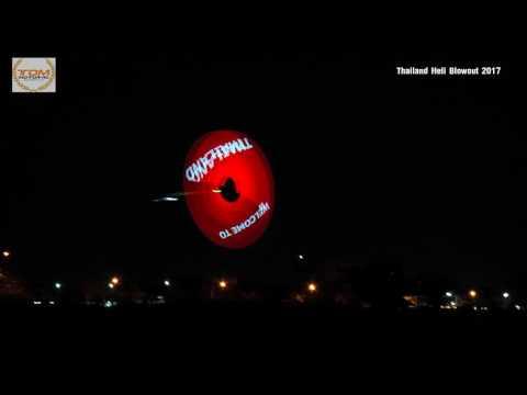 Tareq Alsaadi Night Flight in Thailand Heli Blowou