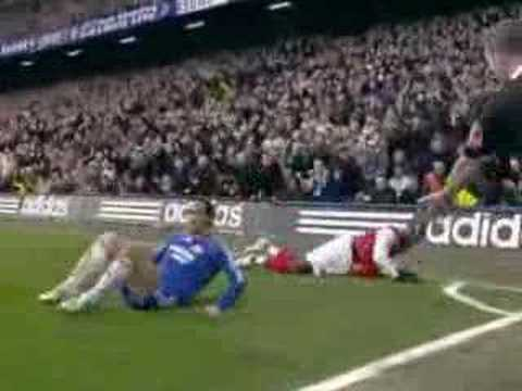 Bacary Sagna en el Arsenal