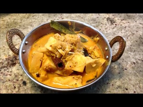 Ambul Polos Curry (Baby Jackfruit Curry)