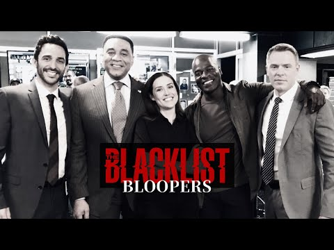 """ALL """"THE BLACKLIST"""" BLOOPERS"""