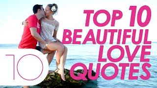 "Presenting Top Ten Greatest Love Quotes..............................................................Click to Subscribe - http://goo.gl/47SV9mClick to Share on Facebook - http://goo.gl/9XtS2eClick to Share on Twitter - http://goo.gl/Ipf3TqClick to Share on Google Plus - http://goo.gl/Qp1aqF..............................................................Follow us on Twitter - https://twitter.com/toptenamazing..............................................................Top Ten Greatest Love Quotes#10""Love is when you fall asleep in his arms  and wake up in his dreams""#9""The greatest challenge in life is to find someone  who knows all your flaws, differences, and mistakes, yet still loves everything about you""#8""True love does not come by finding the perfect person,  but by learning to see an imperfect person perfectly.""#7""Never try to maintain relations in your life. Just try to maintain life in your relations""#6""Duty makes us do things well, but love makes us do them beautifully""#5""Love is shown in your deeds, not in your words""#4""If you judge people, you have not time to love them""#3""Love doesn't need to be perfect; it just needs to be true""#2""Hate is easy, love takes courage""#1""Where there is love, there is life""..............................................................Music : Title : Days Are LongAlbum : YouTube Audio LibraryContributing Artists : Silent PartnerGraphic Images : www.morguefile.com.............................................................."