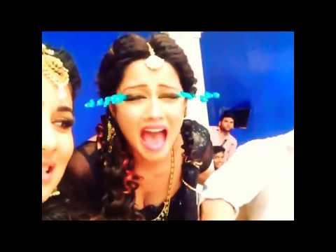 Adaa Khan Mouni Roy Funny Video Compilation
